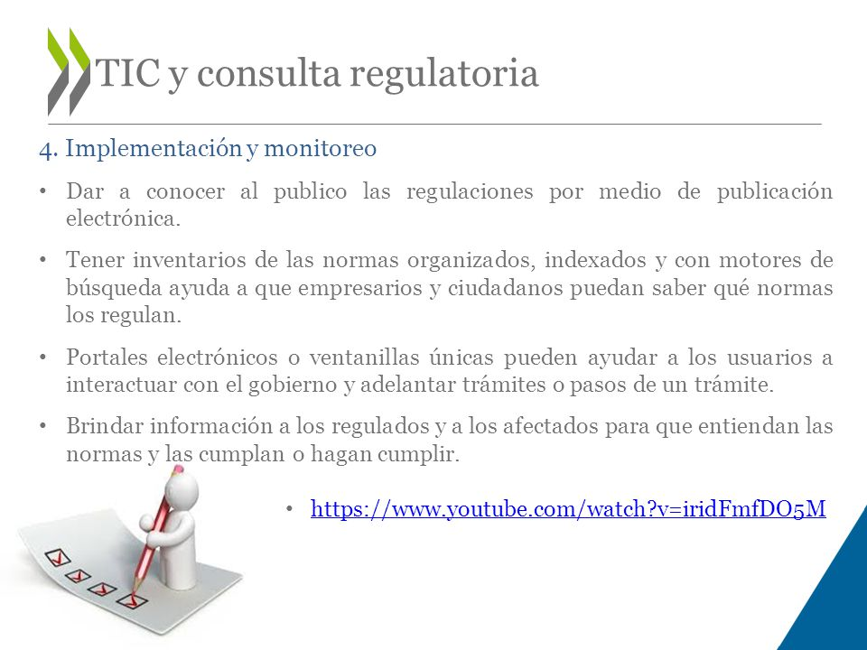 TIC y consulta regulatoria 4.
