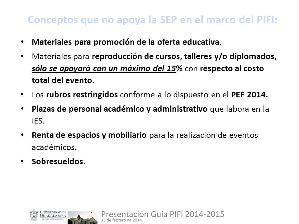 Materiales para promoción de la oferta educativa.
