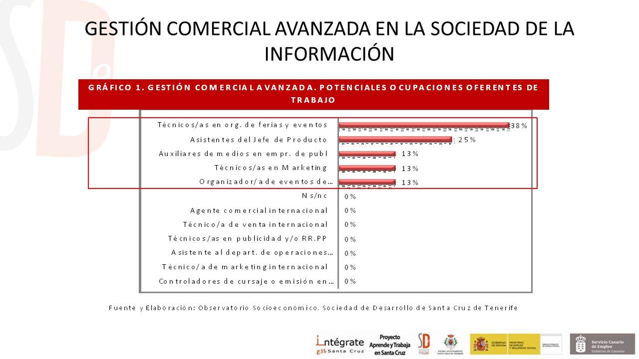 GESTIÓN COMERCIAL AVANZADA EN LA SOCIEDAD DE LA INFORMACIÓN