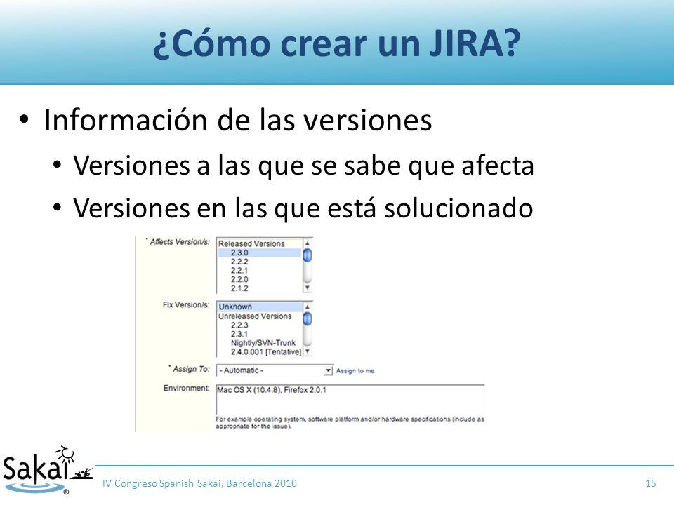 ¿Cómo crear un JIRA.