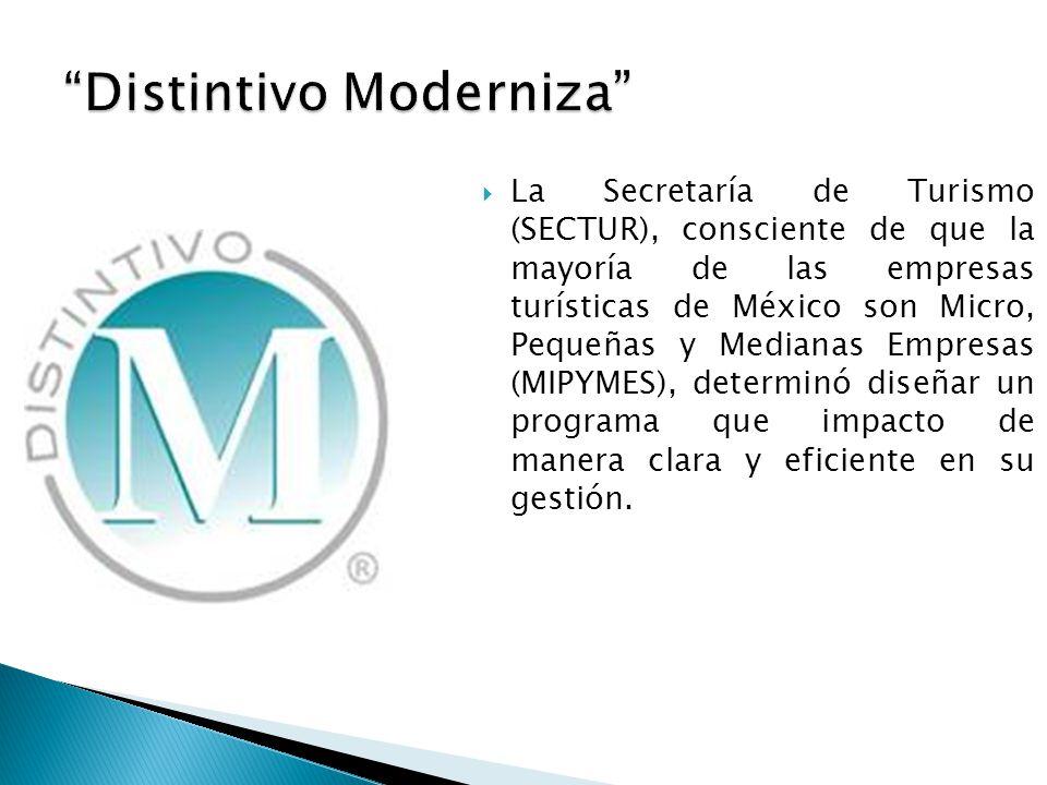  La Secretaría de Turismo (SECTUR), consciente de que la mayoría de las empresas turísticas de México son Micro, Pequeñas y Medianas Empresas (MIPYMES), determinó diseñar un programa que impacto de manera clara y eficiente en su gestión.