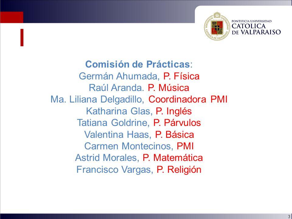 3 Comisión de Prácticas: Germán Ahumada, P. Física Raúl Aranda.