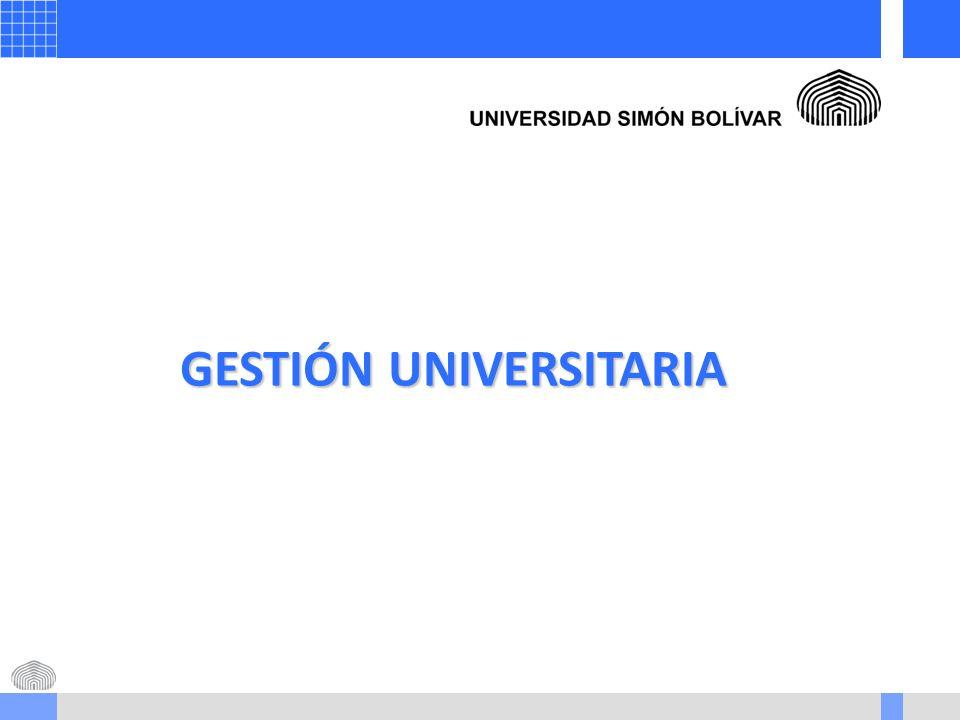 GESTIÓN UNIVERSITARIA