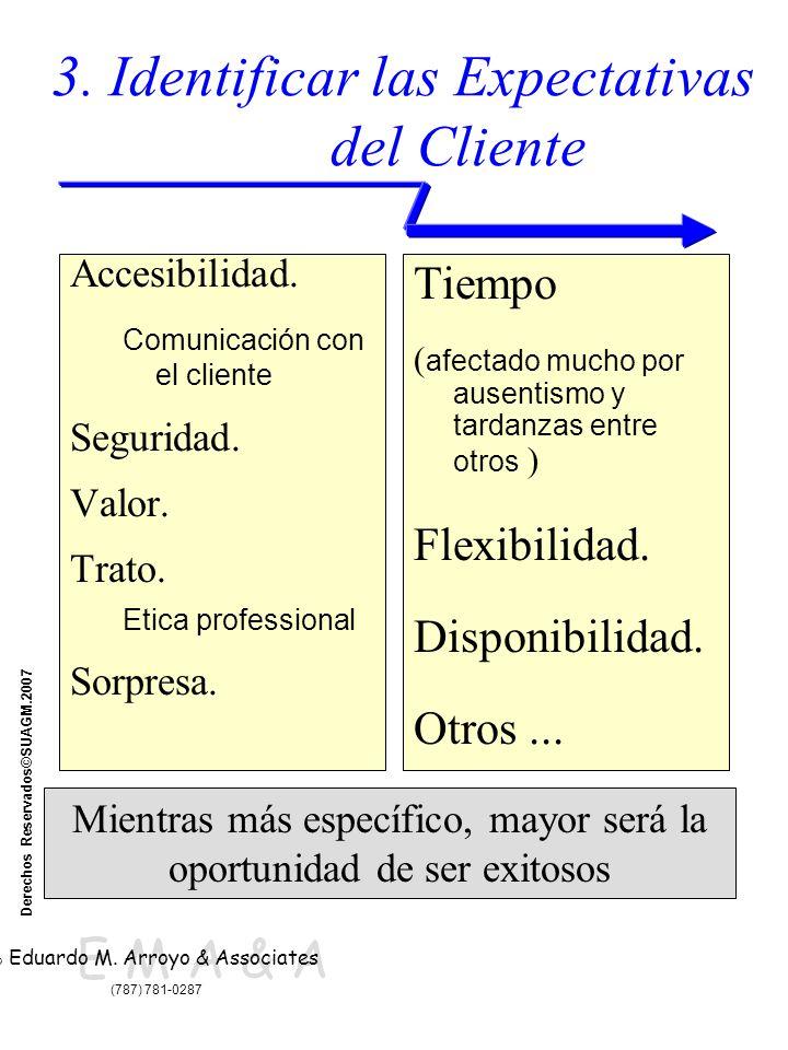 E M A & A © Eduardo M. Arroyo & Associates (787) 781-0287 Derechos Reservados©SUAGM.2007 3.