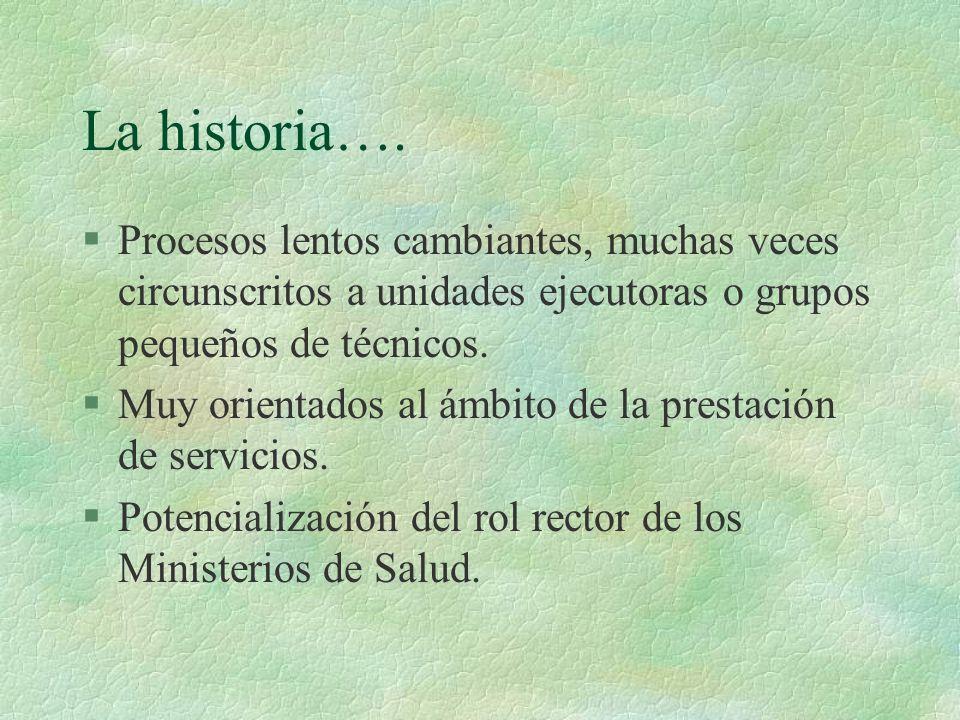La historia….