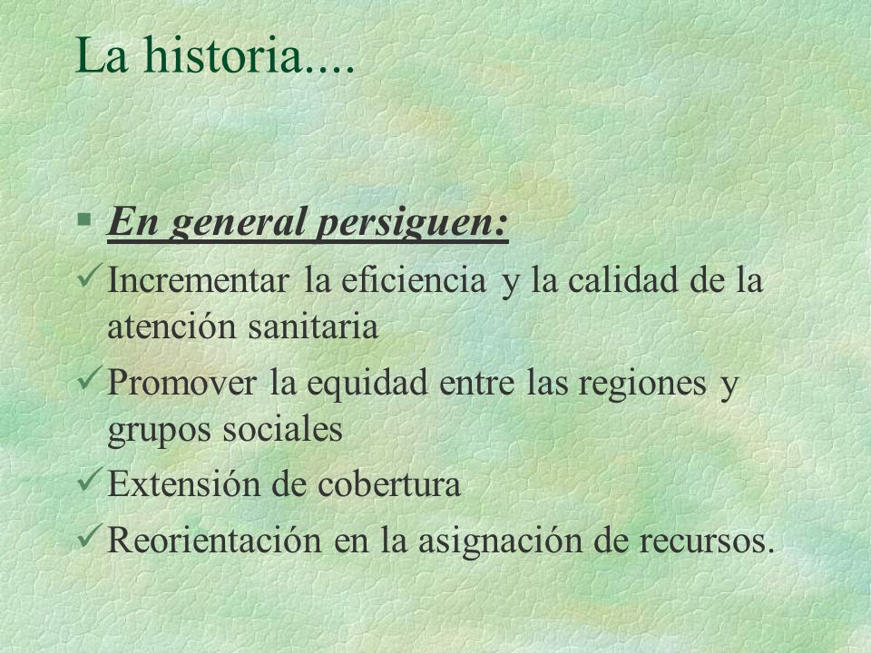 La historia....