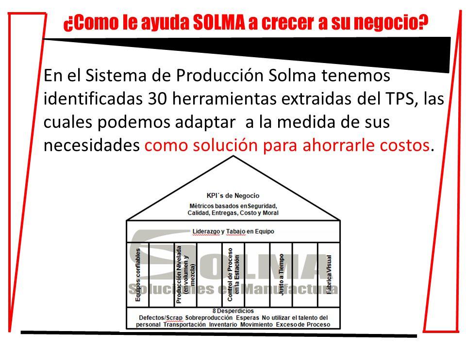 ¿Como le ayuda SOLMA a crecer a su negocio.