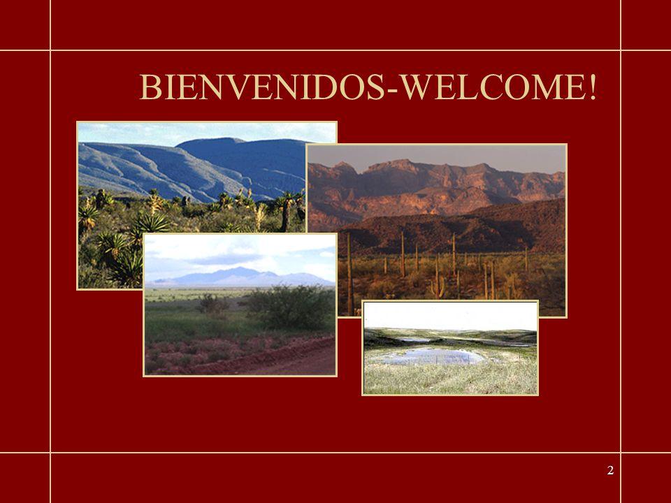 2 BIENVENIDOS-WELCOME!