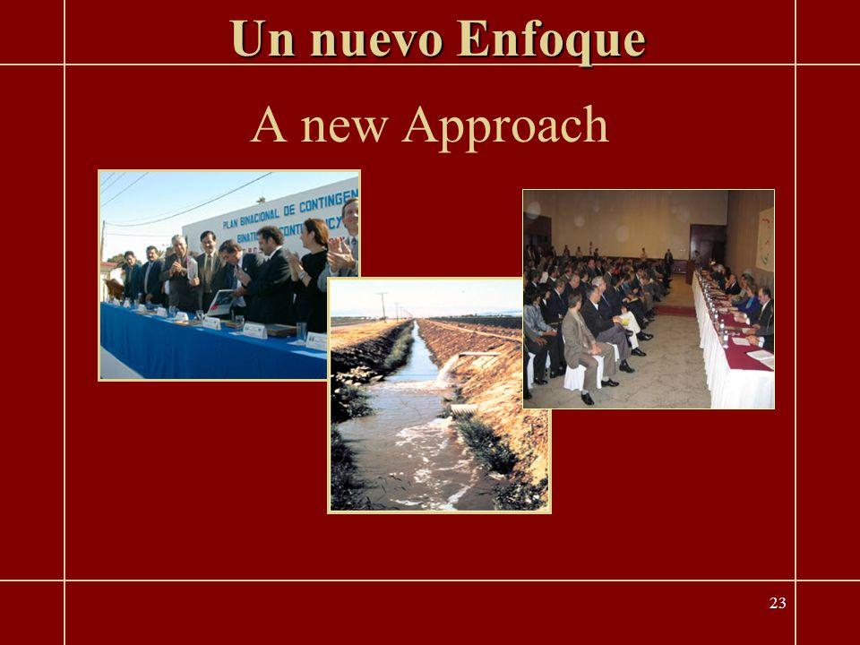 23 A new Approach Un nuevo Enfoque