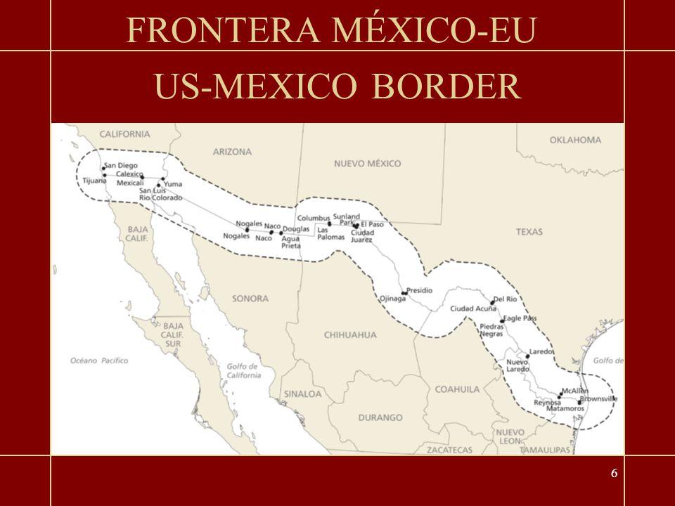 6 US-MEXICO BORDER FRONTERA MÉXICO-EU