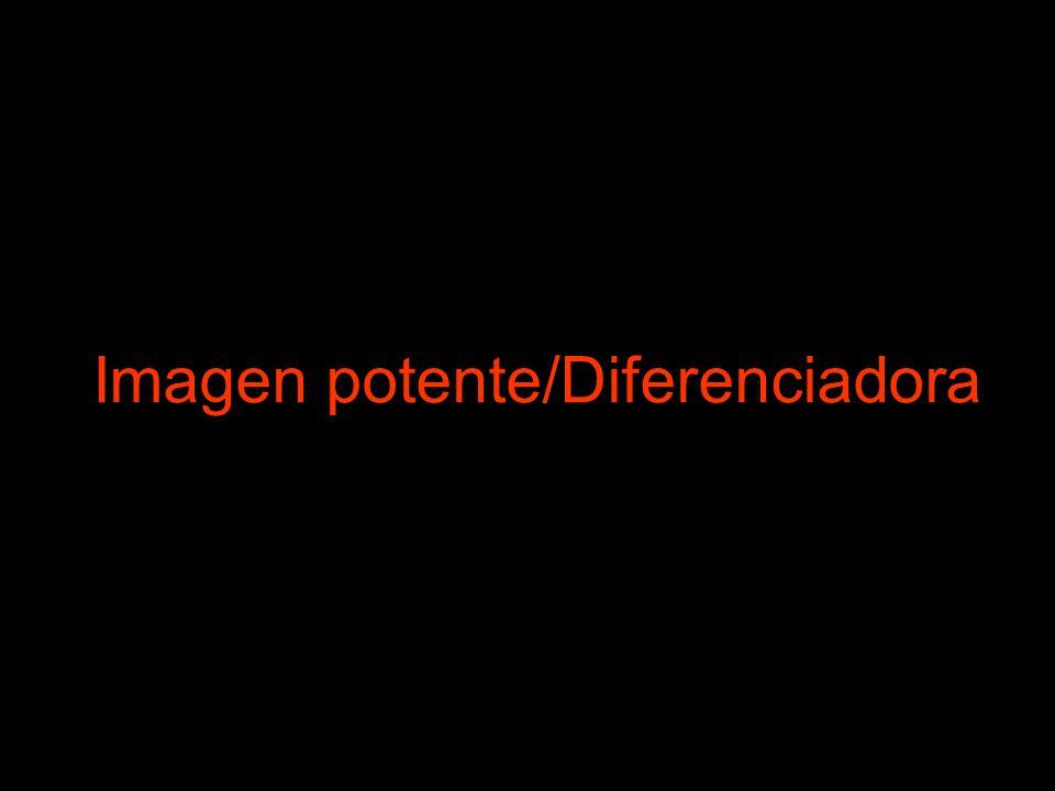 Imagen potente/Diferenciadora