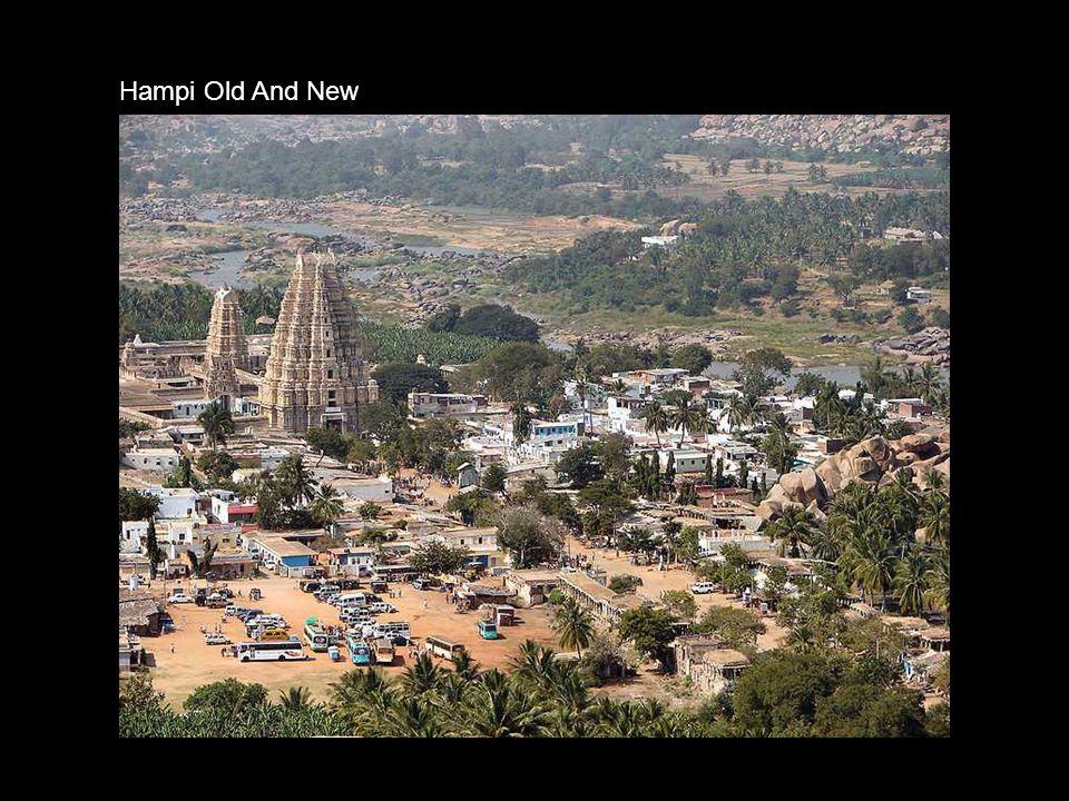 Hampi valley temple