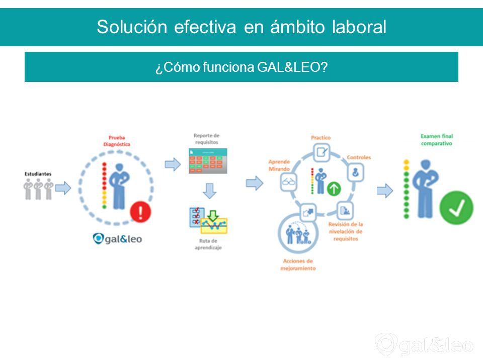Solución efectiva en ámbito laboral ¿Cómo funciona GAL&LEO