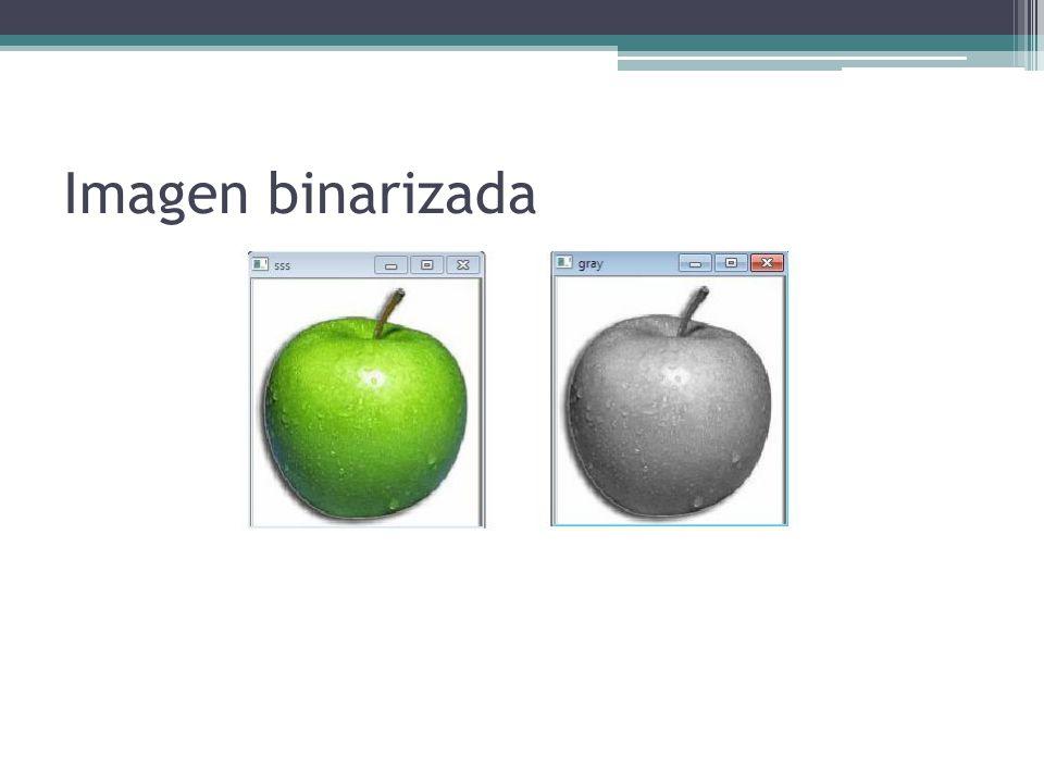 Imagen binarizada