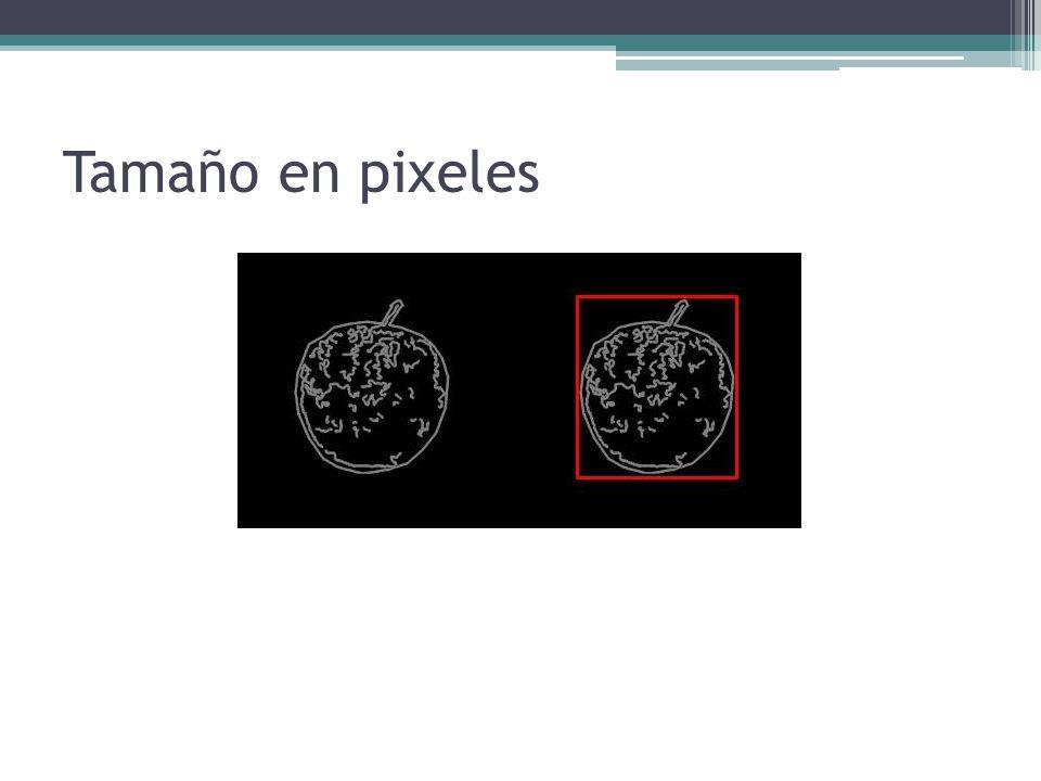 Tamaño en pixeles