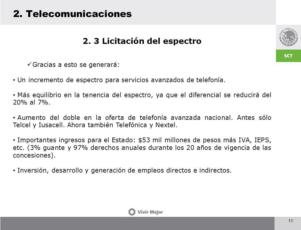 11 2. Telecomunicaciones 2.