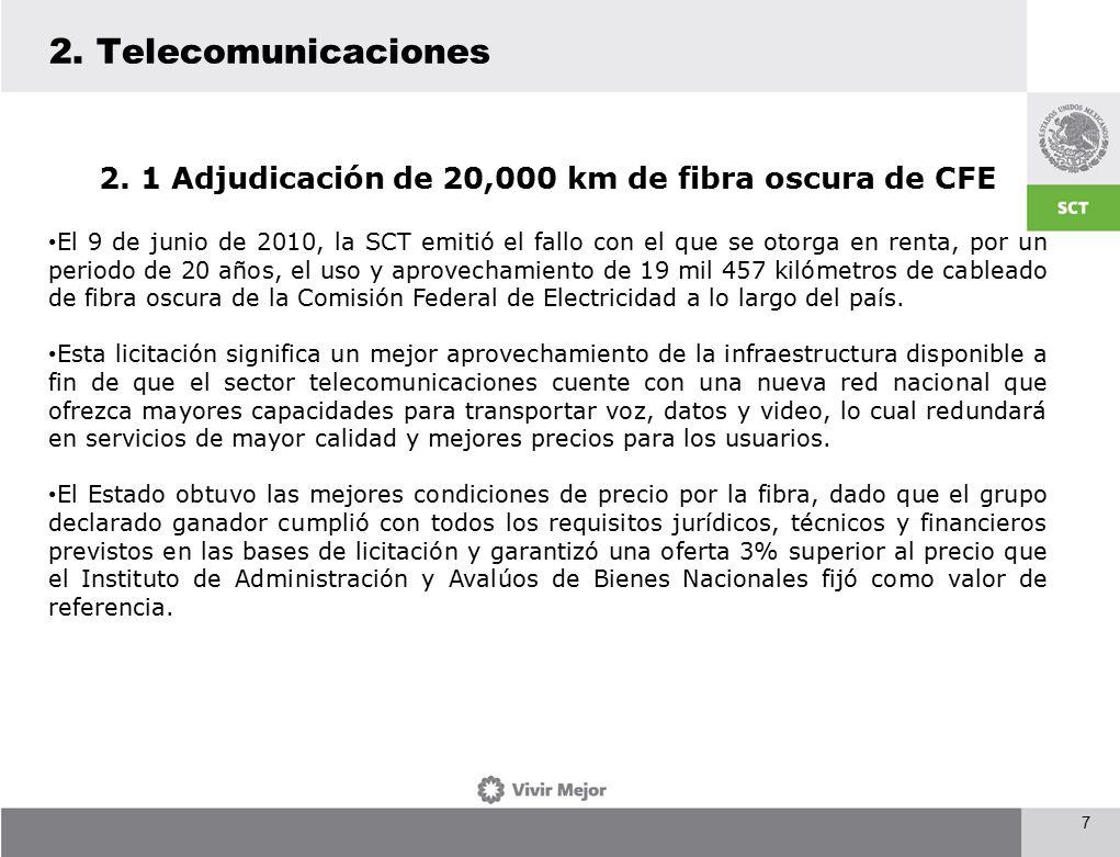 2. Telecomunicaciones 7 2.