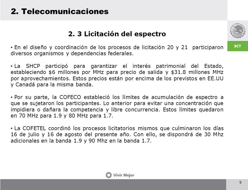 9 2. Telecomunicaciones 2.