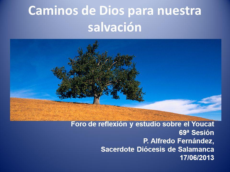 Caminos de Dios para nuestra salvación Foro de reflexión y estudio sobre el Youcat 69ª Sesión P.