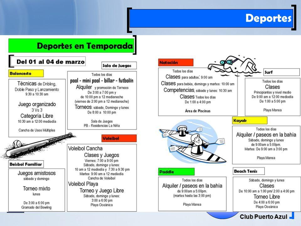 Rif: J00041181-6 Club Puerto Azul El Farito Deportes