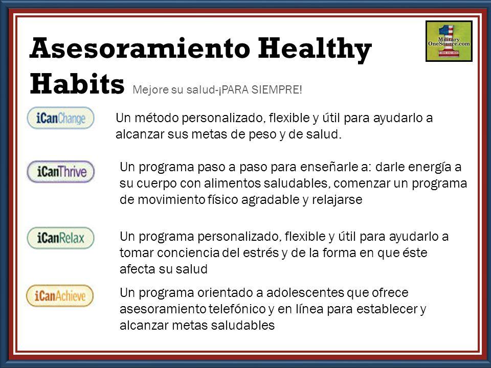 Un método personalizado, flexible y útil para ayudarlo a alcanzar sus metas de peso y de salud.