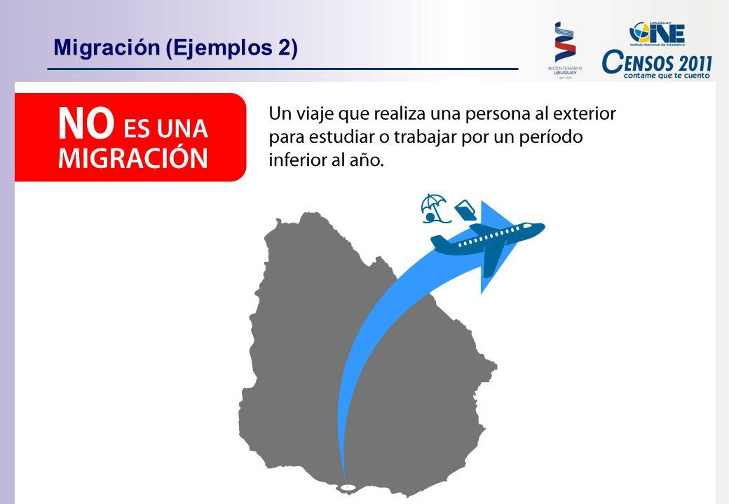 Migración (Ejemplos 2)