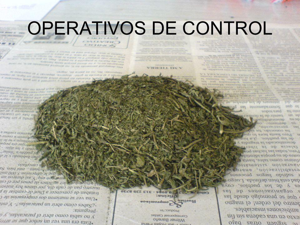 OPERATIVOS DE CONTROL