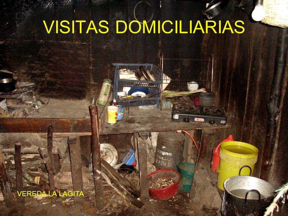 VISITAS DOMICILIARIAS VEREDA LA LAGITA