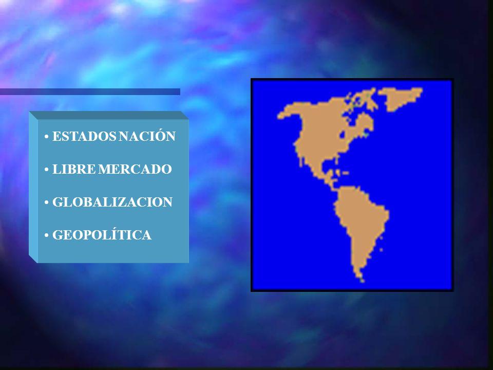 ESTADOS NACIÓN LIBRE MERCADO GLOBALIZACION GEOPOLÍTICA