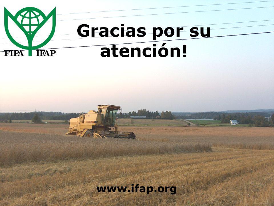 Gracias por su atención! www.ifap.org