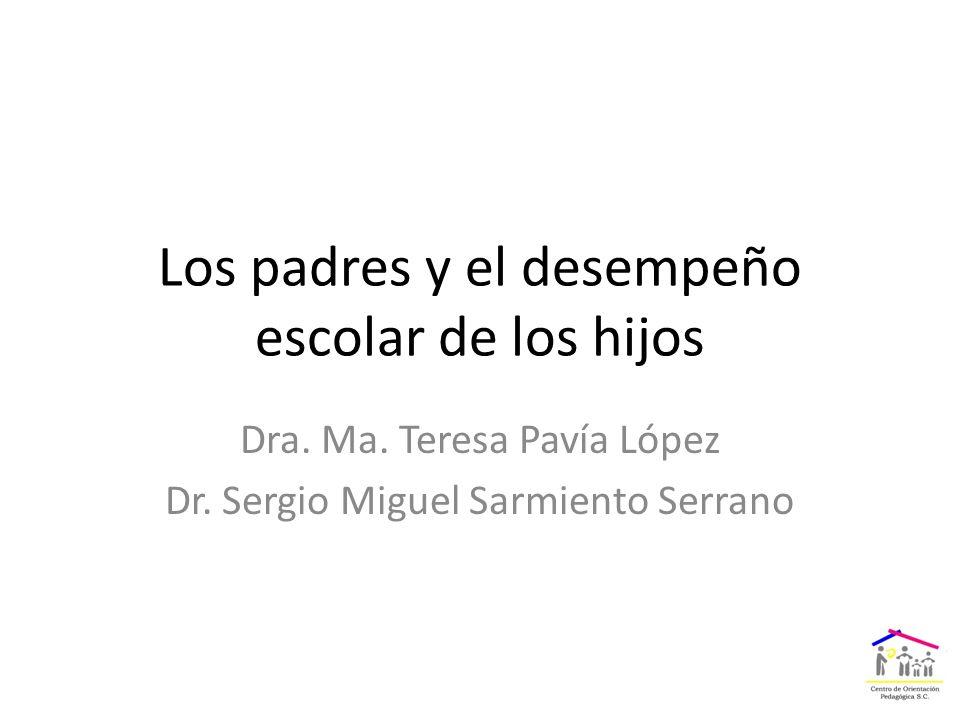 Dra. Ma. Teresa Pavía López Dr.