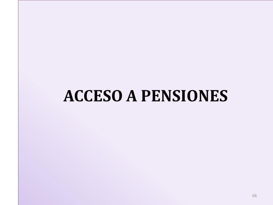 ACCESO A PENSIONES 68