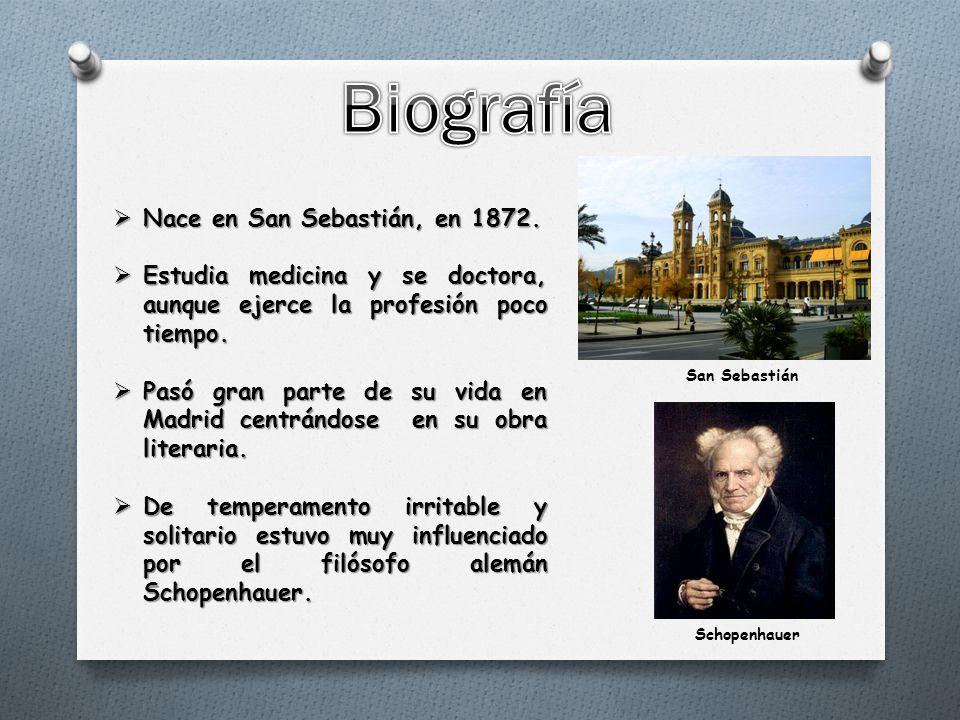  Nace en San Sebastián, en 1872.