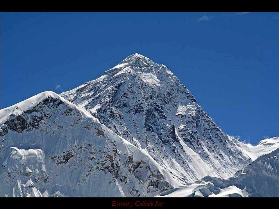 Everest y glaciar del Kumbu