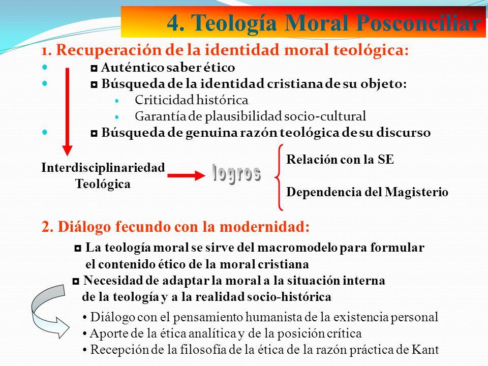 4. Teología Moral Posconciliar 1.