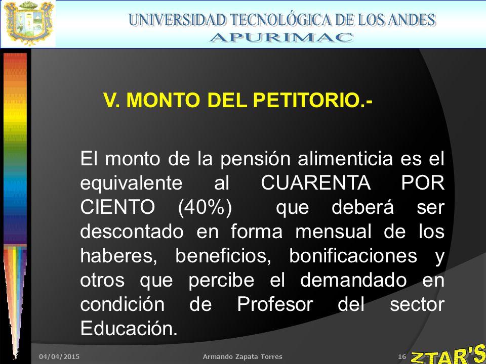 04/04/2015Armando Zapata Torres16 V.