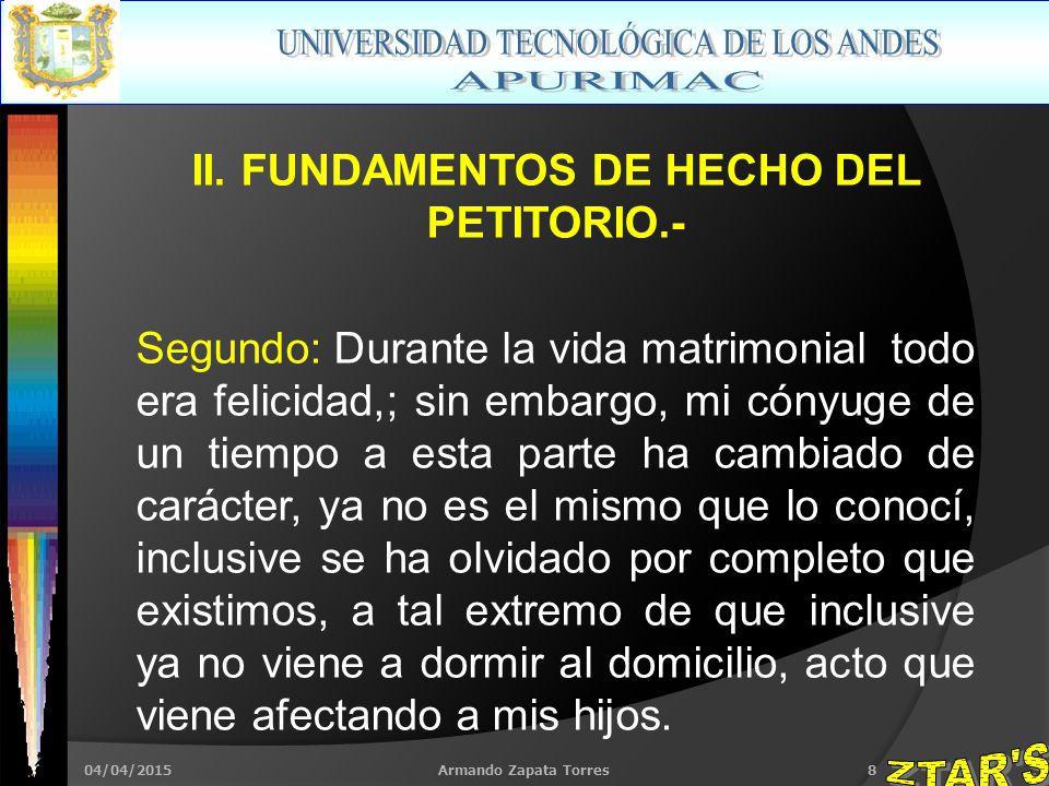 04/04/2015Armando Zapata Torres8 II.
