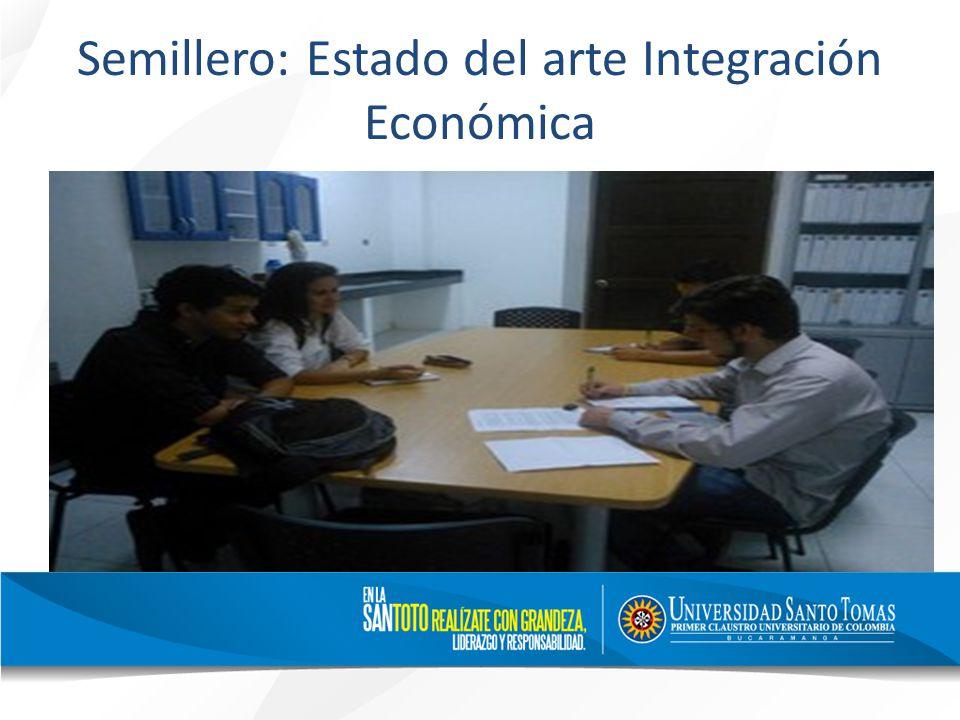 Semillero: Estado del arte Integración Económica