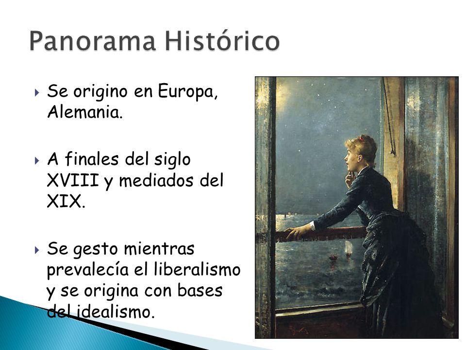  Se origino en Europa, Alemania.  A finales del siglo XVIII y mediados del XIX.