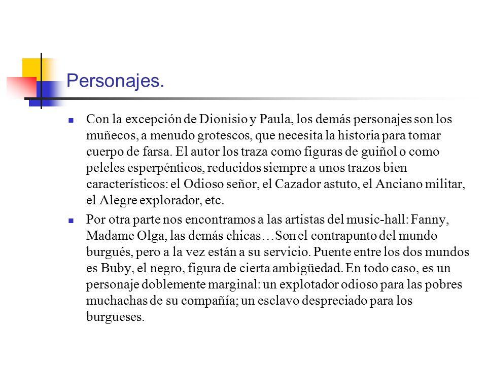 Personajes.