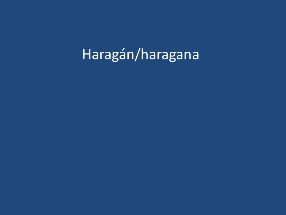 Haragán/haragana