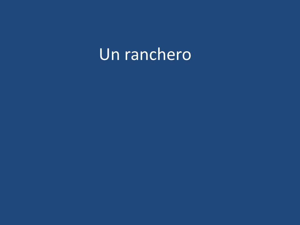Un ranchero
