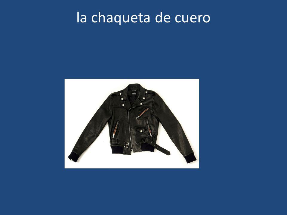 la chaqueta de cuero