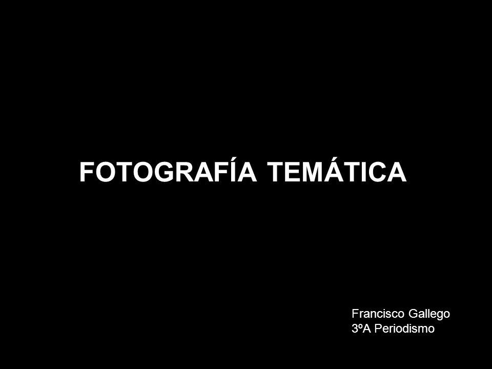 FOTOGRAFÍA TEMÁTICA Francisco Gallego 3ºA Periodismo