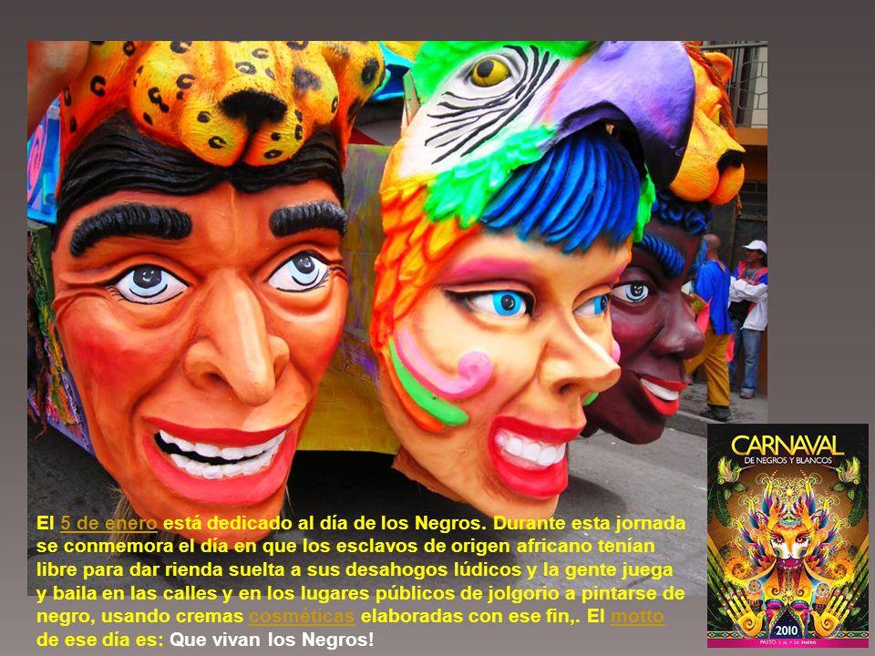El carnaval comprende cuatro etapas importantes, a saber: el Carnavalito, la llegada de la familia Castañeda, el día de los Negros y el día de los Blancos con su desfile magno (siendo este el más importante turísticamente por la belleza).