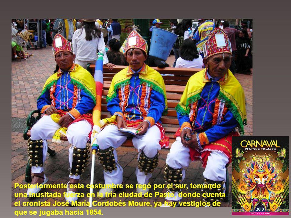 Esta noticia fue dada a conocer por bando en Popayán y así fue como el 5 de enero, se declara día libre para las gentes de color; la población negra de la capital del Cauca salió a las calles a bailar al ritmo de la música africana y empezaron a pintar de negro las afamadas paredes blancas de esa población.