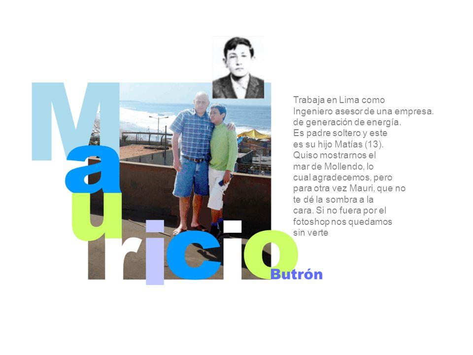 Trabaja en Lima como Ingeniero asesor de una empresa.