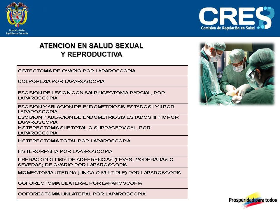 ATENCION EN SALUD SEXUAL Y REPRODUCTIVA