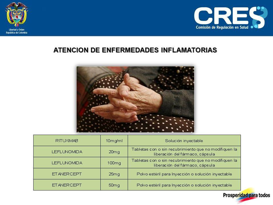 ATENCION DE ENFERMEDADES INFLAMATORIAS