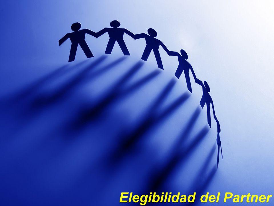 Elegibilidad del Partner